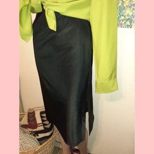 Vintage 80s high waisted skirt